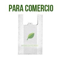 Bolsas biodegradables para comercio