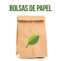 bolsa de papel biodegradable