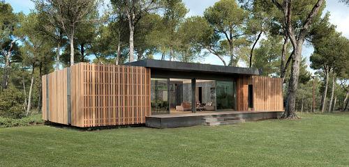 casa pasiva prefabricada