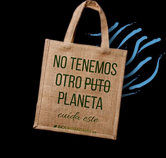 No tenemos otro puto planeta, biodegradable.es